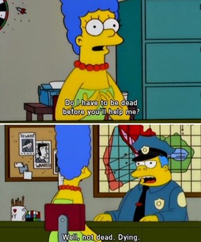 The Simpsons Gets It