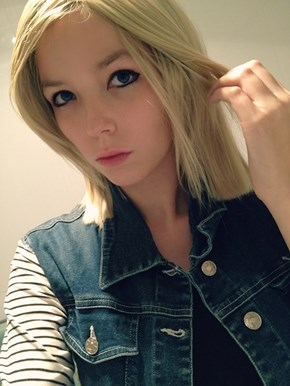 You need a little more Android 18 in your life