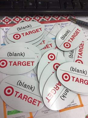 """Have the Blank Name Tags Arrived Yet?"""