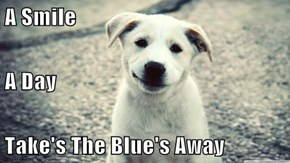 A Smile  A Day Take's The Blue's Away