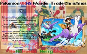 Celebrate the Holidays by Giving Away Awesome Pokémon and Items!