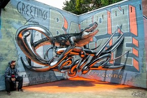 The Mind-Bending 3D Street Art of Odeith