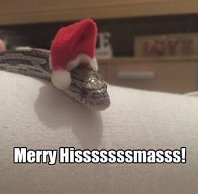 Merry Hisssssssmasss!