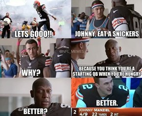 Johnny Football's New Commercial