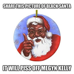 A Fox News Anchor Thinks Santa is Supposed to Be White?