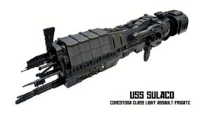 """The Sulaco From """"Aliens"""" Gets a LEGO Makeover"""