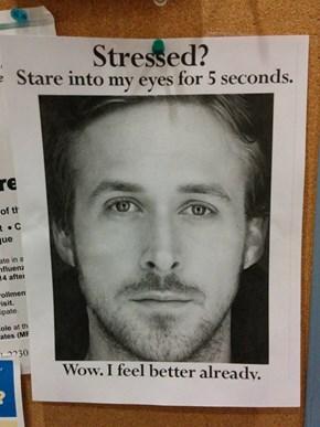 One More Way to Beat Exam Stress
