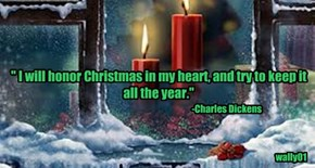 Merry Christmas! Thank you all for a year of friendship and laughter.