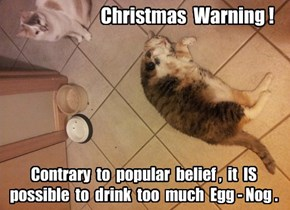 Holiday Public Service Announcement
