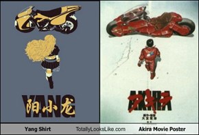 Yang Shirt Totally Looks Like Akira Movie Poster