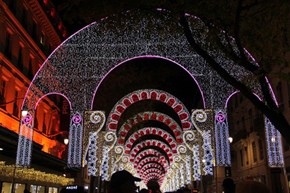 A Scene from the 2014 Festival of Lights in France
