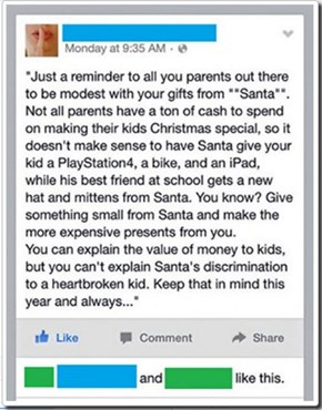 A Pro Tip for the Santa-Conscious Parents Out There