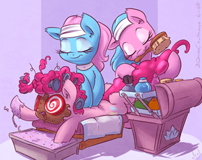 Pinkie Needs to Relax
