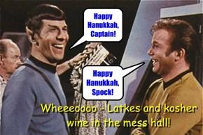 When Spock Smiles