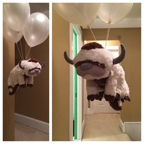 Sky Bison Has a Little Help From Helium