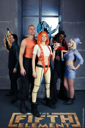 The Fifth Element is Cosplay
