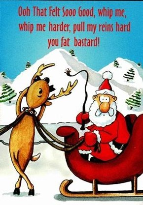 The Reindeer Are Getting Kinky