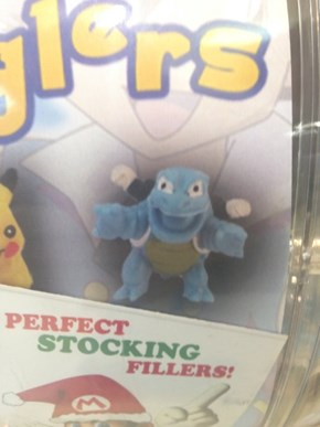 Blastoise Has Seen Better Days