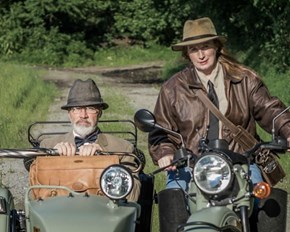 Married Couple Awesomely Cosplays Indy and Dr. Jones Sr.