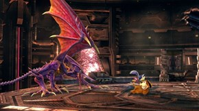 """Ridley never takes a brake from the """"being a fighter"""" thing."""