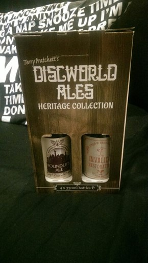 What? Discworld Beer?!?!?!