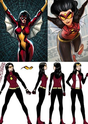 Spider-Woman's Gets a Practical New Design