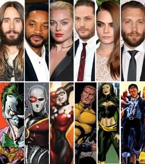 DC/Warner Bros Announces Cast of Suicide Squad
