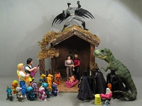 Shut it Down, We Don't Need Any Other Nativity Scenes
