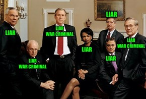 Liars and war criminals...
