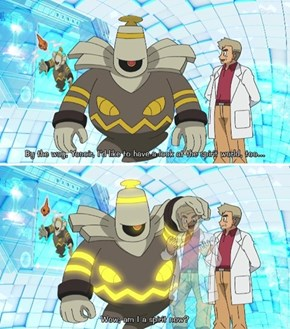 Dusknoir is So Nice to Help Prof. Oak
