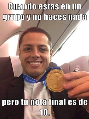 Chicharito es un loquillo