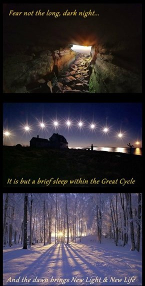 A Blessed Solstice to All
