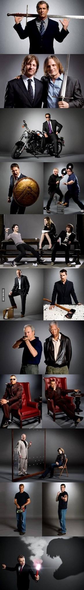 Actors recalling their best roles