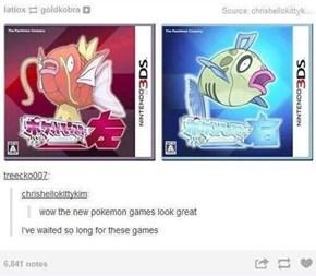 Pokémon Splish and Pokémon Splash
