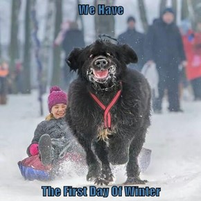 We Have  The First Day Of Winter