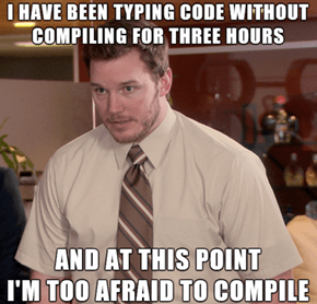 As a Rookie Programmer...