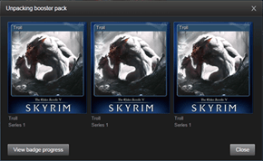 Trolled by a Skyrim Booster Pack