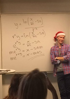 Solving for (X)-Mas
