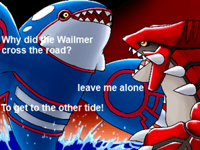 Joke Time With Kyogre