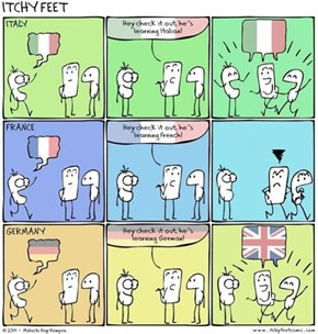 A Guide to Trying to Learn Different European Languages