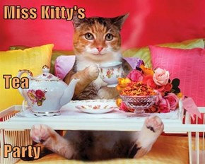 Miss Kitty's Tea Party