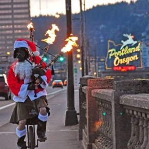 Portland Knows How to Keep it Weird, Even During the Holidays
