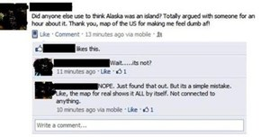 The Sovereign Island Nation of Alaska Will Not Stand for This Ignorance