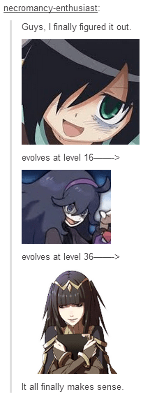 Evolution of Tomoko