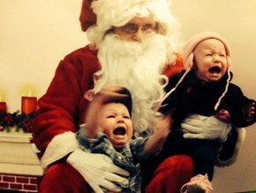 Maybe We Should Rethink the Time-Honored Santa Photo Tradition