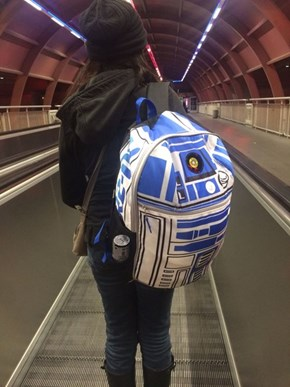 Because You've Always Wanted to Give R2-D2 a Piggyback Ride