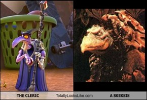THE CLERIC Totally Looks Like A SKEKSIS