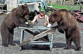 Russians Always Have Good Drinking Buddies
