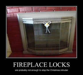 FIREPLACE LOCKS