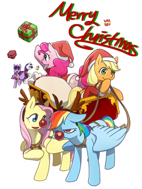 Ponies and Christmas